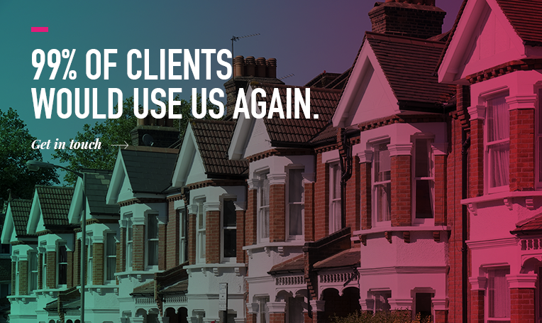 99% of our clients would use us again