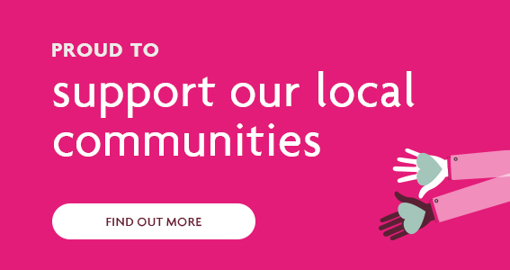 Support our local communities